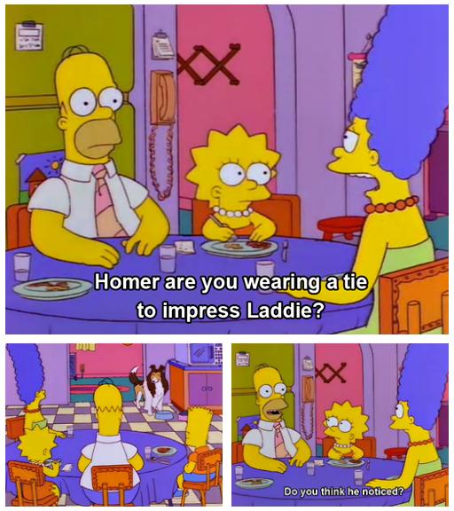 Laddie come home. Source: Lassie: An XXX Parody. Laddie come home Source: Lassie: An XXX Parody