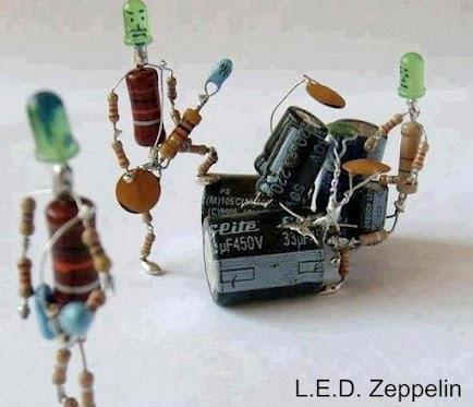 L.E.D. Zeppelin. . LED. Zeppelin. i once did something like that. L E D Zeppelin LED i once did something like that