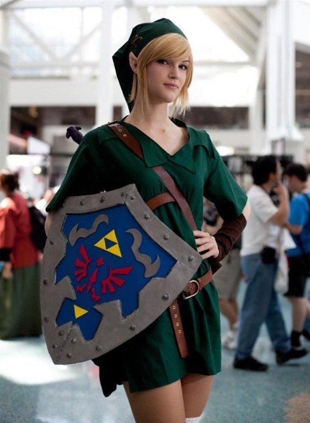 Legend of Zelda cosplay. . cosplay Legend of zelda link
