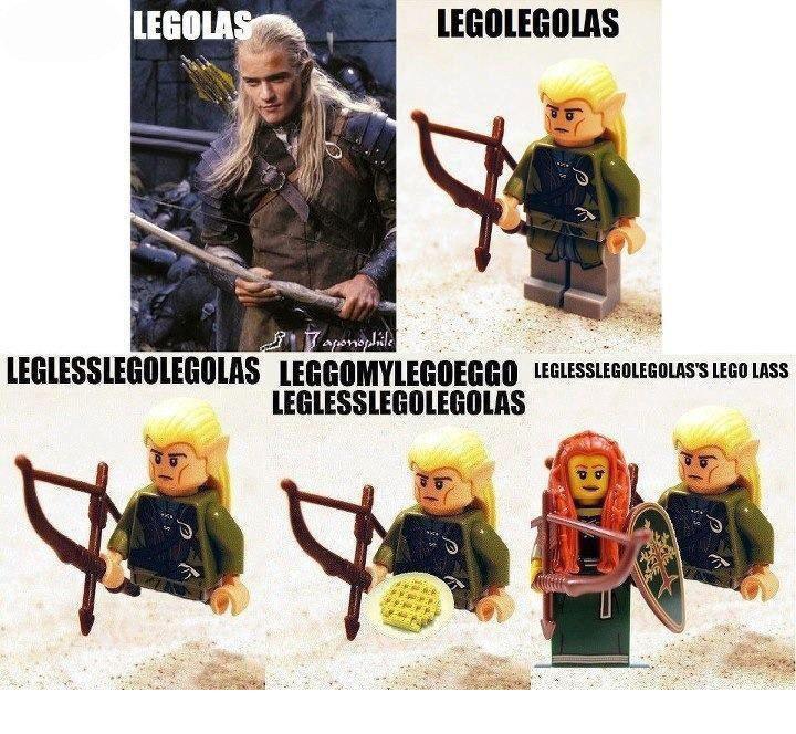 Legolas. legolas. legolas everywhere
