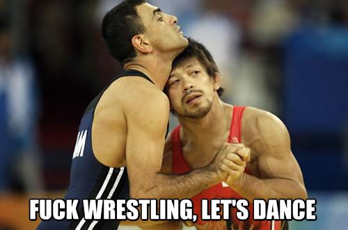 Let's Dance. . aai Wrestling wrestle dance Dancing