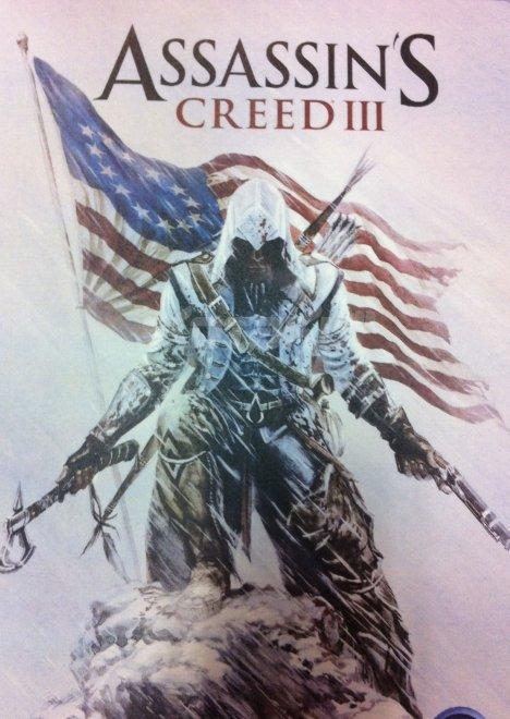 Let the revolution begin... .. I think Assassins Creed III is gonna be....revolutionary American Assassi
