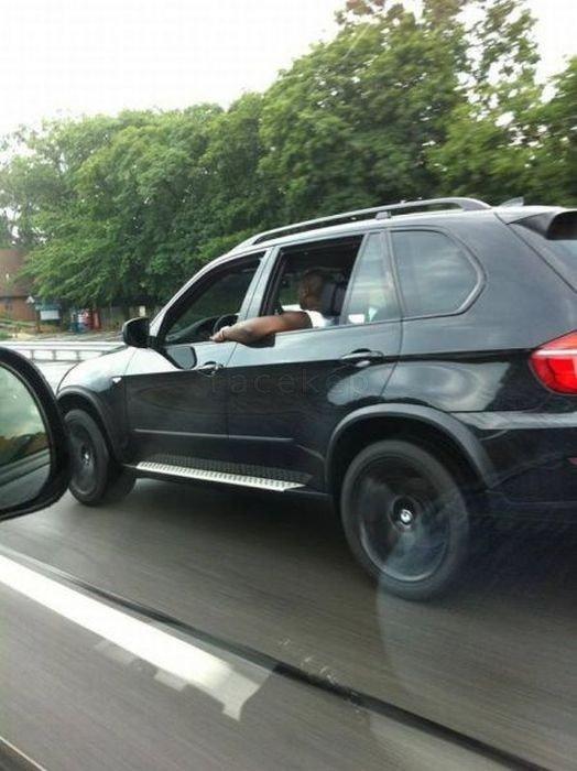 Like a boss. .. Like a driving WTF
