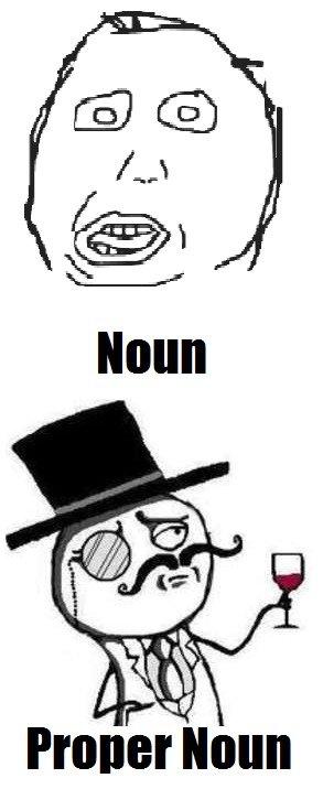 Like a Noun. . like a sir noun pronoun