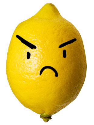 Livid Lemon. This lemon is livid.. Livid Lemon