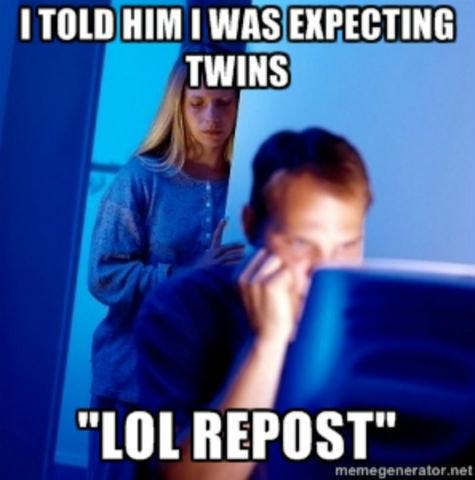 LOL repost. . LOL repost