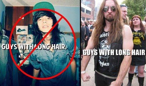 long hair. . long hair