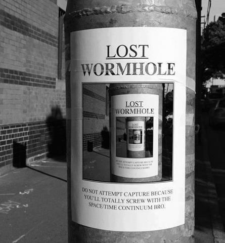 lost wormhole. . lost wormhole