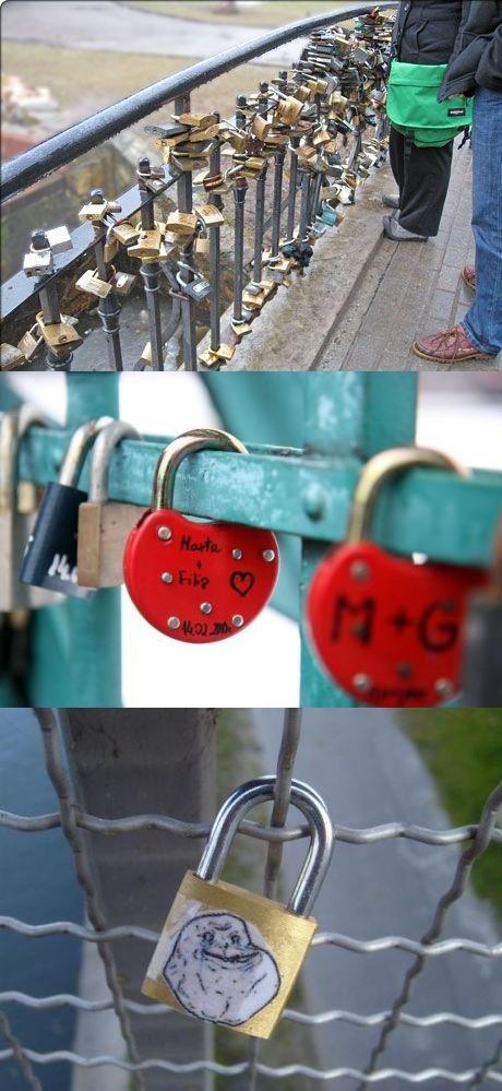 love bridge. from imgure made me laugh soooo hard. love bridge from imgure made me laugh soooo hard
