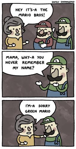 Luigi; Origins. not mine. NEVER REMEMBER Mr HHMM? Still?' GREEN FIRE!!!. inb4 the storm of homicidal luigi gifs Luigi; Origins not mine NEVER REMEMBER Mr HHMM? Still?' GREEN FIRE!!! inb4 the storm of homicidal luigi gifs