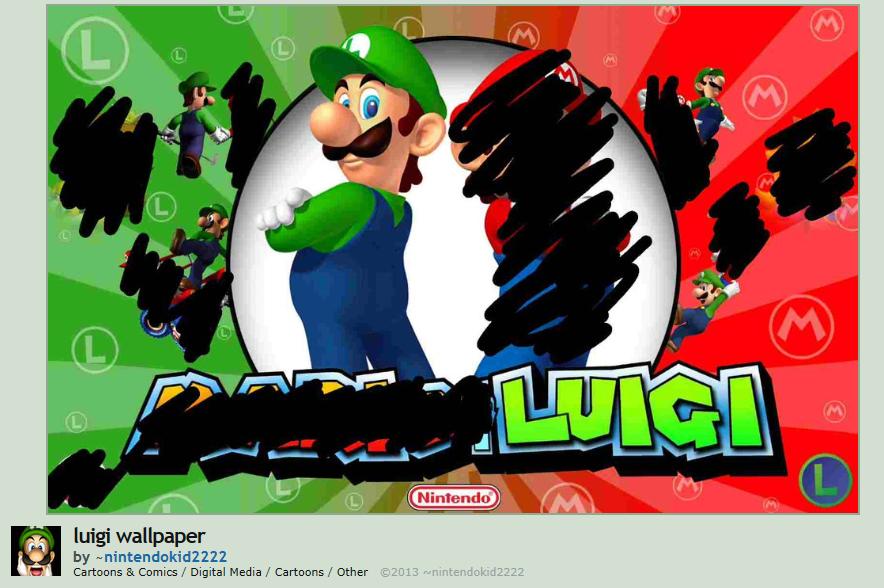 Luigi wallpaper. Remaining character count: 2469. M luigi wallpaper green mario