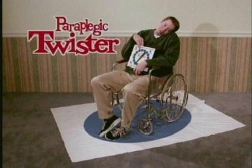 Paraplegic Twister. Fun! . Gay retard boner Penis nigga Horseman cowdog