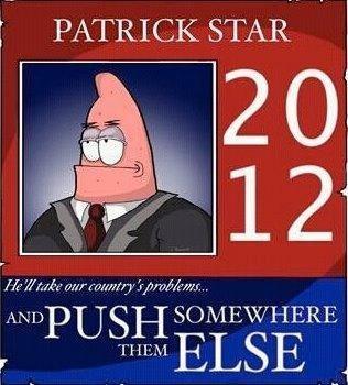 Patrick Star. Probably a repost. alaskan Bull worm