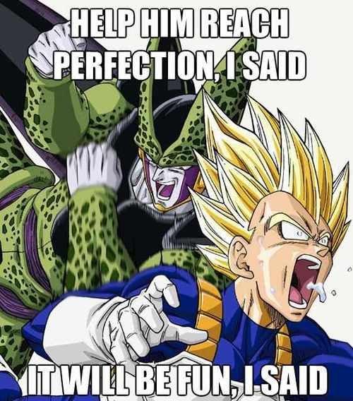 Perfect Cell. . HIM Still]. it! FINAL FLASH!!!!! dbz