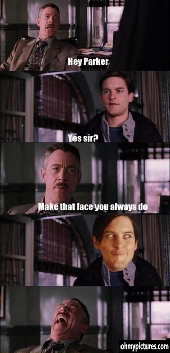 Peter Parker. . Peter Parker