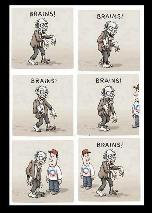 Picky zombie. . Picky zombie