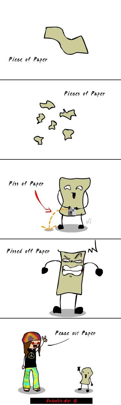 "Piece of Paper. OC visit . Piece "" Paper Pieces "" Paper Pause att Paper onionsir piece of paper"