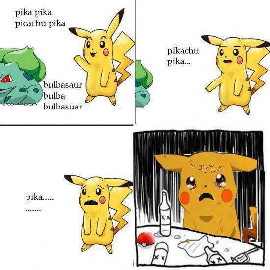 Pika... Sorry for the punchline.. pika Pika picachus pika. Ohhoho...pika-pii.
