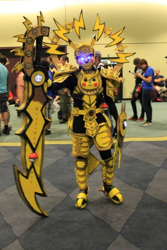 Pikachu Armour. Sick Pikachu armour.. This.... pikcahu Pokemon
