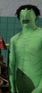 pls cosplay hulk.. . Hulk cosplay