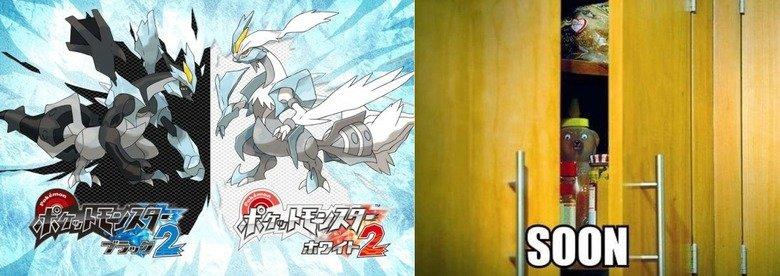 Pokemon Black 2 and White 2. Soon........ Pokemon black white