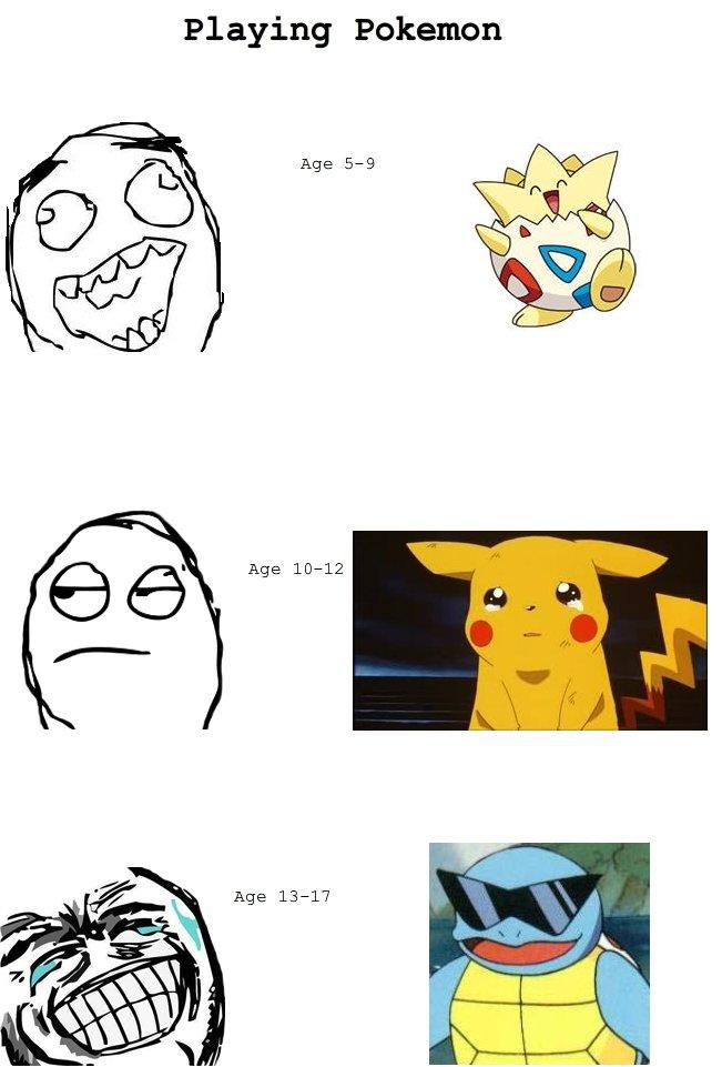 Pokemon. The short denial period. Playing Pokemon. Fixed the Pokemon game