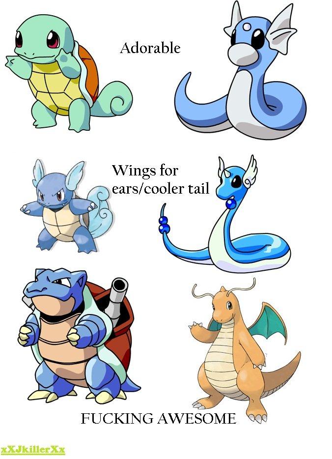 Pokemon similarities. Just some pokemon similarities I noticed... O_o.. You killed it at the end. -_- Pokemon similarities