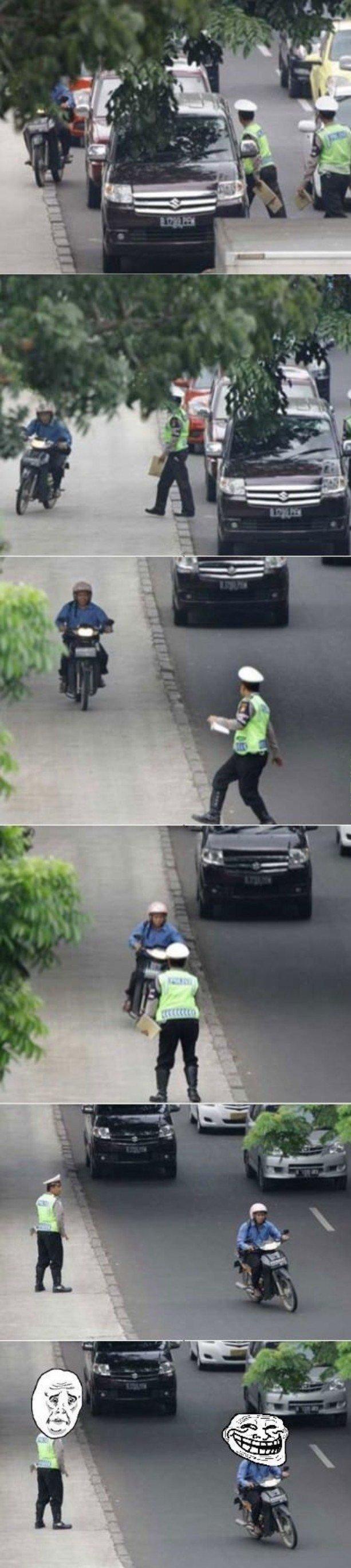 Policeman Fail. .. le me-mes fun funny pictures pics policeman fail fails