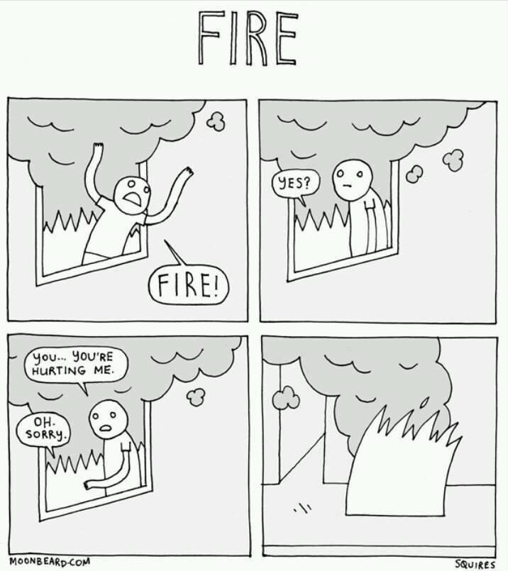Polite fire. . Polite fire
