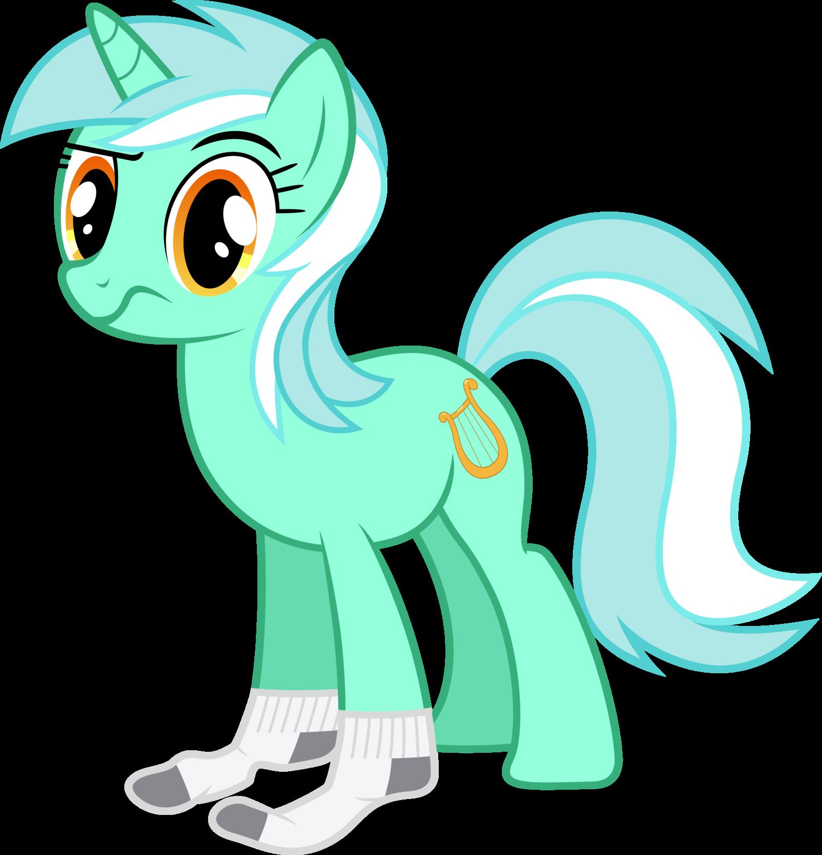 Pone with socks re sexy (͡° ͜ʖ ͡°). .. Oh hot she's got socks on MLP Lyra