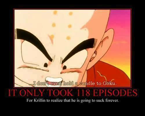 Poor Krillin.... .. 118 episodes? So about halfway through the second battle. dbz