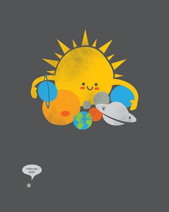 Poor Pluto. .