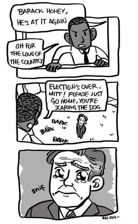 Poor Romney. Poor, poor Romney.. BARACK HONEY, ttys at IT ). Obama-kun why? Poor Romney poor BARACK HONEY ttys at IT ) Obama-kun why?
