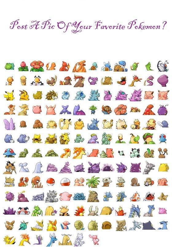 Post Your Favorite Pokemon. Original Pokemon Only? I like Eevee Best :3.. . Yeah. Post Your Favorite Pokemon Original Only? I like Eevee Best :3 Yeah