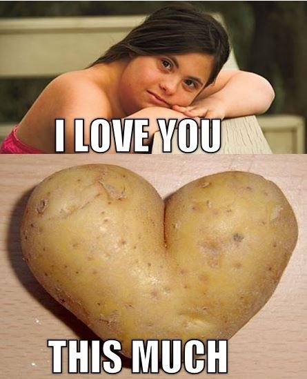 Potato. .. hahahahah logged in just to thumb potato