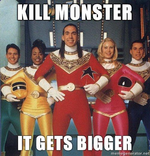 Power Rangers. nostalgia-gasm. Demeter's. motormen wll, BIGGER rangers lol power power rangers meme