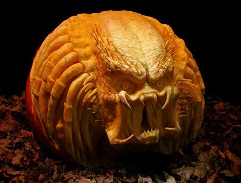 Predator Pumpkin. . Predator Pumpkin