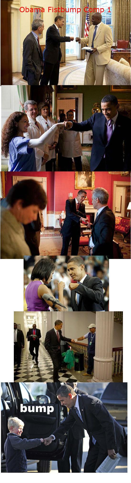 President Obama Fistbump Compilation 1. Like for Obama Fistbump Compilation 2!!. President obama barrack Fistbump bump