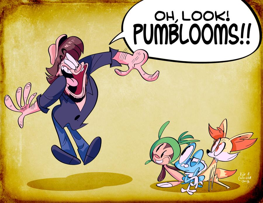 pumbloom. pumbloom is my favorite pokemon. game hrumps
