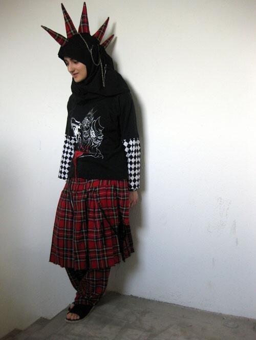 Punk Muslim girl. .. 10/10 would stone. Punk Muslim girl 10/10 would stone