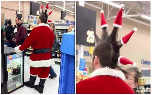 Punk Santa. .. Wait, wat? Punk Santa Wait wat?
