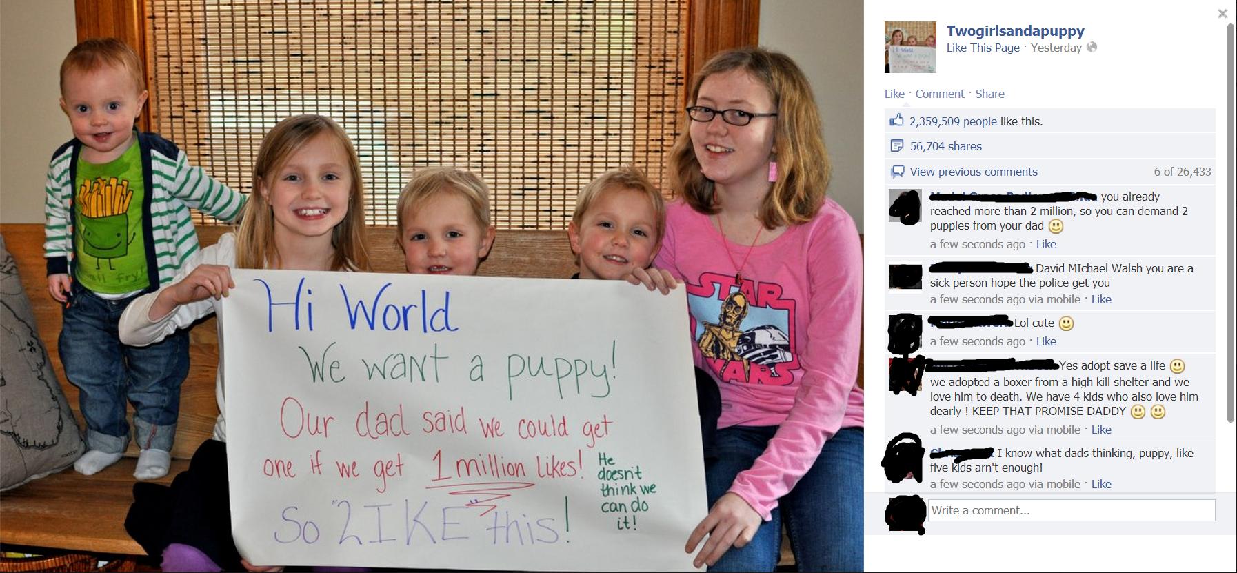 Puppy. What an asshole, just get your kids a damn puppy.. Puppy What an asshole just get your kids a damn puppy