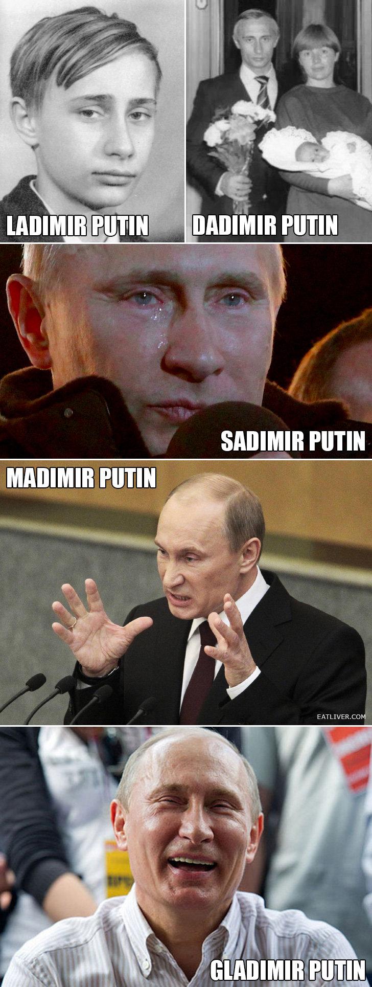 Putin.. hue.. Putin hue
