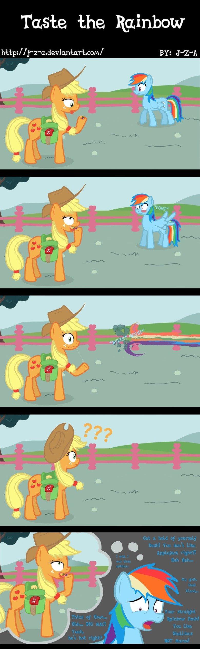 Taste the Rainbow. . Taste the Rainbow lellel BY: 'leel ponies comic