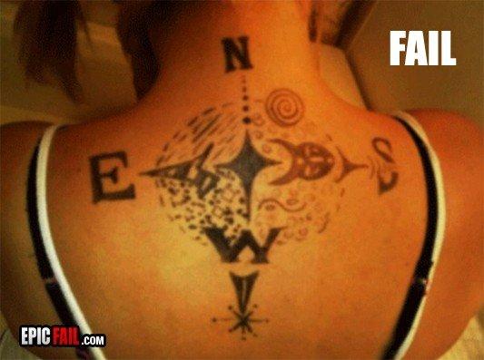 Tatoo Fail. .. thats marker Tatoo Fail thats marker