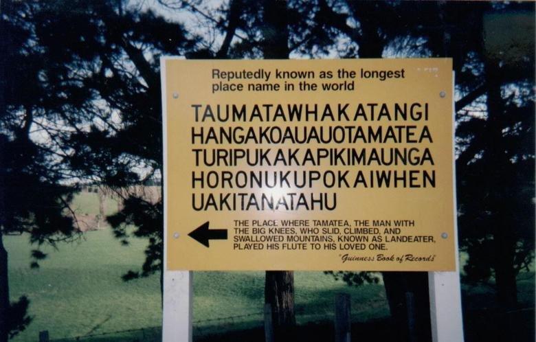 Taumatawhakatangihangakoauauotamateaturi. Imagine the dentist begin like: So where are you from. Taumatawhakatang
