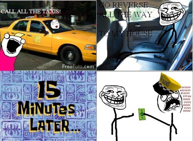 """Taxi Troll. OC. FAFF FFA uguu Htnm k I Dunn JDUB"""" Taxi Troll"""
