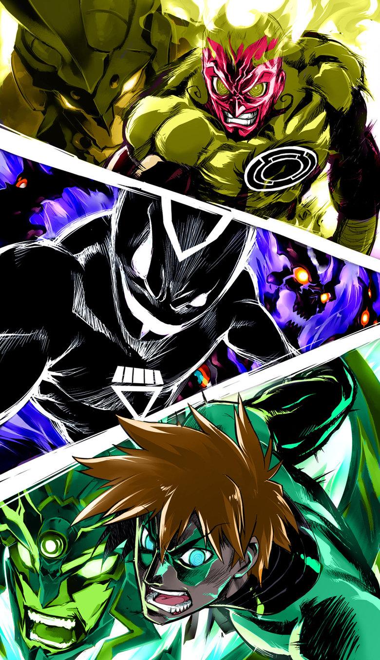 Tengen Toppa Green Lantern. .. mass lagann or gurren effect?