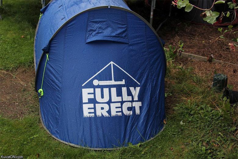 "Tent. . Kuv aic) N. cam.. heh... heh... ""pitching a tent..."" Tent Kuv aic) N cam heh ""pitching a tent """