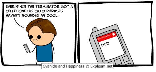 Terminator. . exam comic Termi